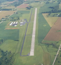 Aerial photo of 2M2 (Lawrenceburg-Lawrence County Airport)