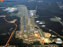Aerial photo of KCEW (Bob Sikes Airport)