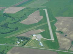 Aerial photo of Y03 (Springfield Municipal Airport)