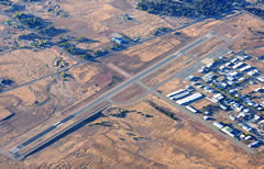Aerial photo of KRBL (Red Bluff Municipal Airport)