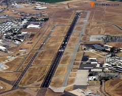 Aerial photo of KBFL (Meadows Field Airport)