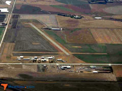Aerial photo of KOEL (Oakley Municipal Airport)