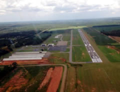 Aerial photo of KPXE (Perry-Houston County Airport)