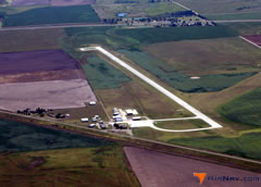 Aerial photo of KRSL (Russell Municipal Airport)