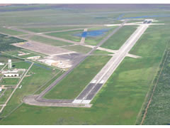 Aerial photo of KPIL (Port Isabel-Cameron County Airport)