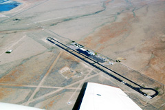 Aerial photo of KSVC (Grant County Airport)