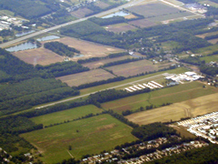 Aerial photo of 1G1 (Elyria Airport)