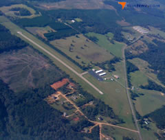 Aerial photo of 17M (Magee Municipal Airport)