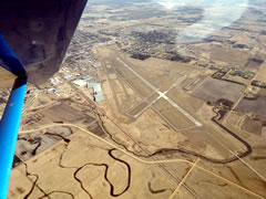 Aerial photo of KBKX (Brookings Regional Airport)