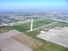 Aerial photo of KHRL (Valley International Airport)