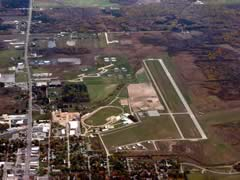 Aerial photo of KGDW (Gladwin Zettel Memorial Airport)