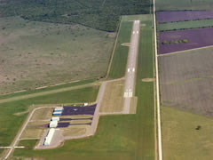 Aerial photo of KBEA (Beeville Municipal Airport)