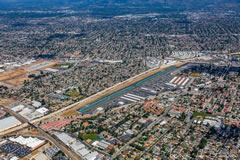 Aerial photo of KEMT (El Monte Airport)