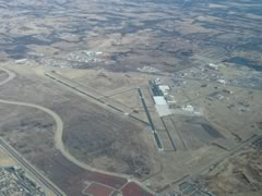 Aerial photo of KOUN (University of Oklahoma Westheimer Airport)