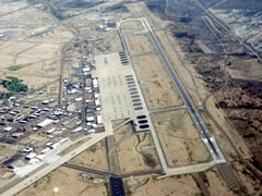 Aerial photo of KDMA (Davis Monthan Air Force Base)