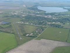 Aerial photo of KELA (Eagle Lake Airport)