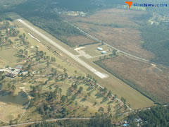 Aerial photo of 2R7 (Franklinton Airport)