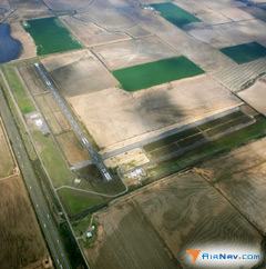 Aerial photo of 4M3 (Carlisle Municipal Airport)