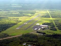 Aerial photo of KTWM (Richard B Helgeson Airport)