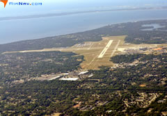 Aerial photo of KPNS (Pensacola International Airport)