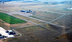 Aerial photo of KAFF (USAF Academy Airfield)