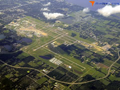 Aerial photo of KSFB (Orlando Sanford International Airport)