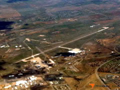 Aerial photo of KBKF (Buckley Air Force Base)