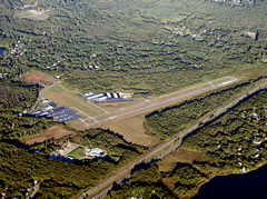 Aerial photo of 1B9 (Mansfield Municipal Airport)