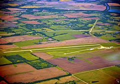 Aerial photo of K88 (Allen County Airport)