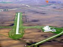 Aerial photo of KIFA (Iowa Falls Municipal Airport)