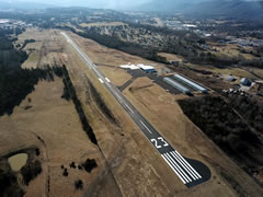 Aerial photo of KJAU (Campbell County Airport)