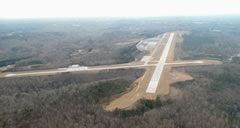 Aerial photo of KTOC (Toccoa Airport-RG Letourneau Field)