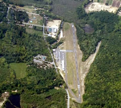 Aerial photo of 3B3 (Sterling Airport)