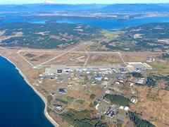 Aerial photo of KNUW (Whidbey Island Naval Air Station (Ault Field))