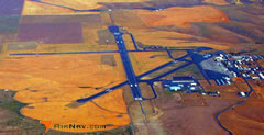 Aerial photo of KPDT (Eastern Oregon Regional Airport at Pendleton)