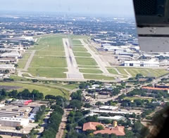 Aerial photo of KADS (Addison Airport)