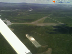 Aerial photo of TSG (Tanacross Airport)