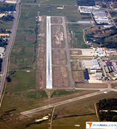 Aerial photo of KTUP (Tupelo Regional Airport)