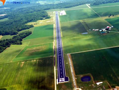 Aerial photo of KHLB (Batesville Airport)