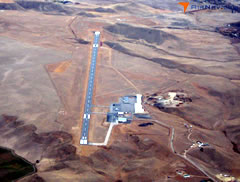 Aerial photo of KBYG (Johnson County Airport)