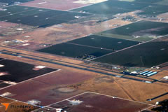 Aerial photo of KLLN (Levelland Municipal Airport)