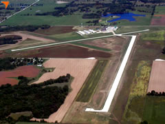 Aerial photo of KFTT (Elton Hensley Memorial Airport)