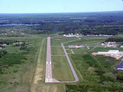 Aerial photo of KRRL (Merrill Municipal Airport)