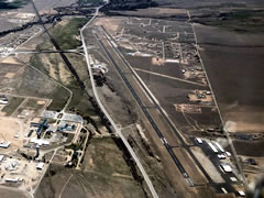 Aerial photo of KAEJ (Central Colorado Regional Airport)
