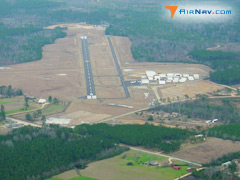 Aerial photo of 0R0 (Columbia-Marion County Airport)
