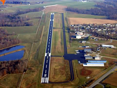 Aerial photo of KBRY (Samuels Field Airport)