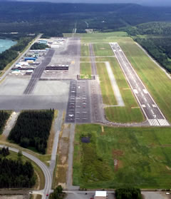 Aerial photo of PASX (Soldotna Airport)