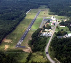 Aerial photo of 7M3 (Bearce Airport)