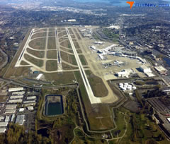 Aerial photo of KSEA (Seattle-Tacoma International Airport)