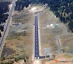 Aerial photo of 2S7 (Chiloquin State Airport)
